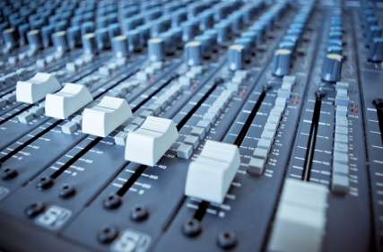 Audio Mixing Board Sliders  ©iStockphoto.com/alan_smithee